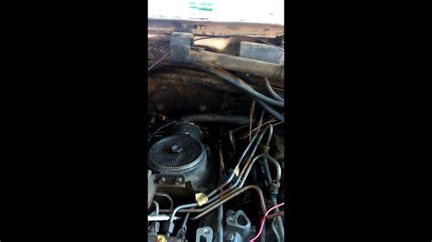 ford   diesel  idi glow plug solenoid