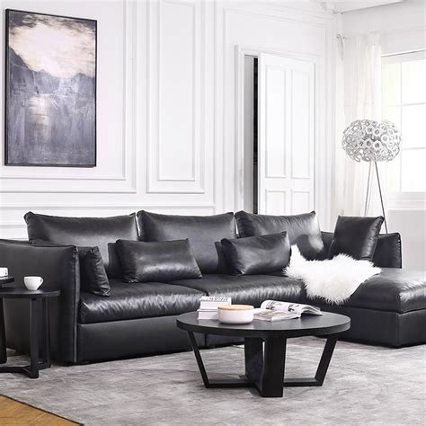 leather sofa set for living room sale modern leather sofa set living room sectional