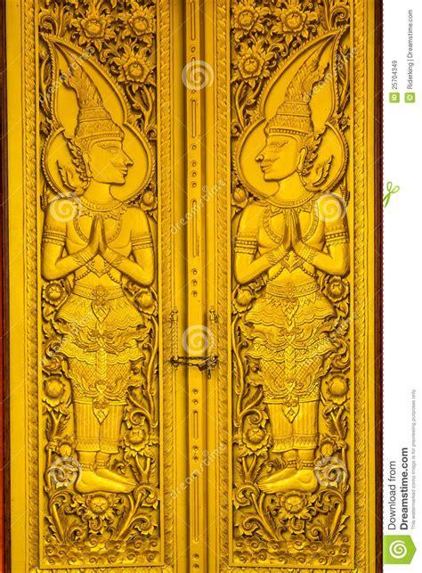 gold door  temple stock image image  windowsill
