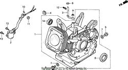 honda eb5000x a generator jpn vin ea7 3000001 parts diagrams