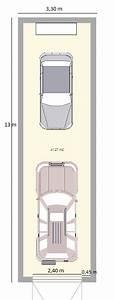 Dimension Garage 1 Voiture : dimension parking voiture maison ~ Dailycaller-alerts.com Idées de Décoration