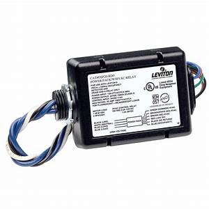 Leviton 120ma 24vdc Power Pack With Dry Contact Relay