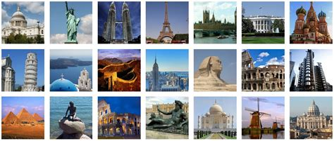 75 most famous buildings of all time