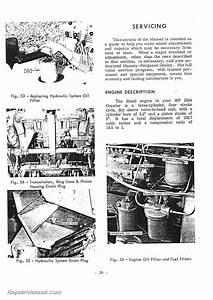 Massey Ferguson 2244 Diesel Crawler Operators Manual