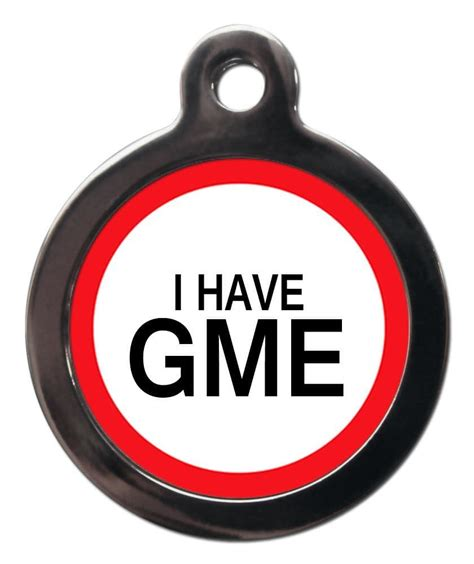 To avoid taking directional trades, they hedge their. Medical Tags for Dogs - I HAVE GME