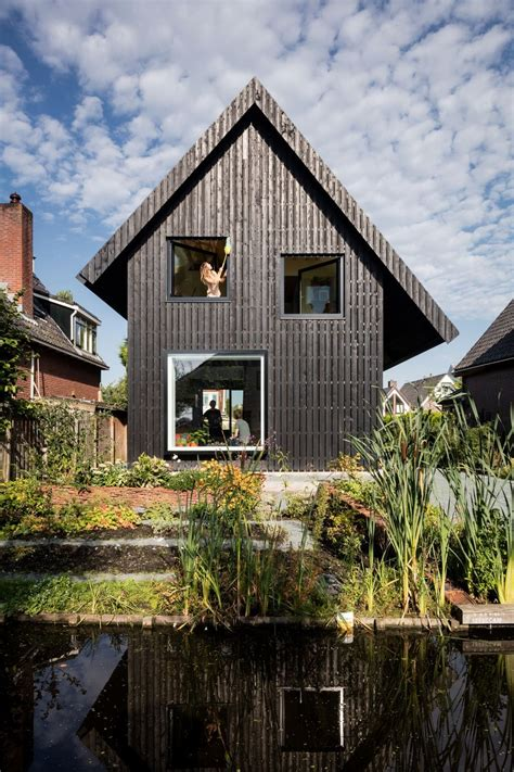 brick house replaced    sustainable timber house  amsterdam
