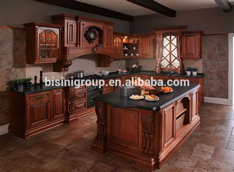 what color for kitchen american style wooden kitchen furniture luxury antique 7034