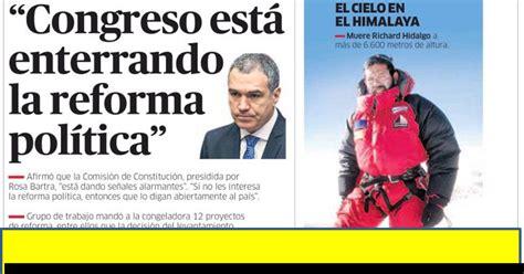 ULTIMAS NOTICIAS DEL DIA DE HOY PERU - PERU VS URUGUAY ...