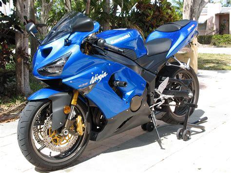05 Zx6r 636 Blue In Miami Fl.