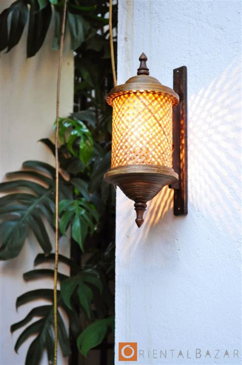 charming upcycled outdoor spring lighting ideas
