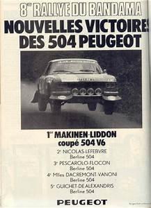 Passion Auto France : pr paration peugeot 504 v6 passion auto france ~ Medecine-chirurgie-esthetiques.com Avis de Voitures