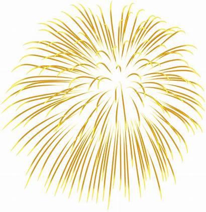 Fireworks Firework Transparent Background Clipart Yellow Clip
