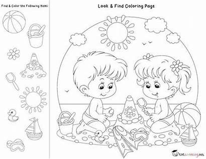 Coloring Pages Hidden Worksheets Activities Totschooling Toddler
