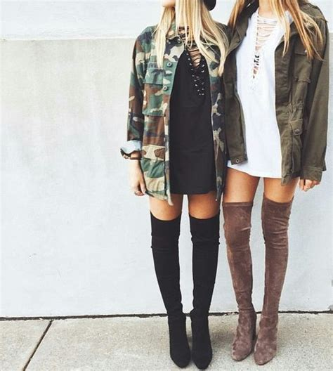Best 25+ Knee high boots outfits ideas on Pinterest   Denim knee high boots Tan boots outfit ...