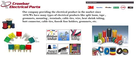 Crowbar Electrical Part Selling Genuine Products