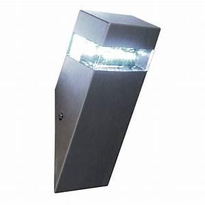 Außenleuchte Wand Led : s luce led wand au enleuchte schr g sled edelstahl kh845wu online kaufen otto ~ Whattoseeinmadrid.com Haus und Dekorationen
