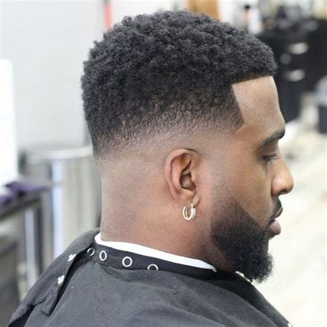 taper fade afro ideas  pinterest afro fade haircut taper fade haircuts  afro
