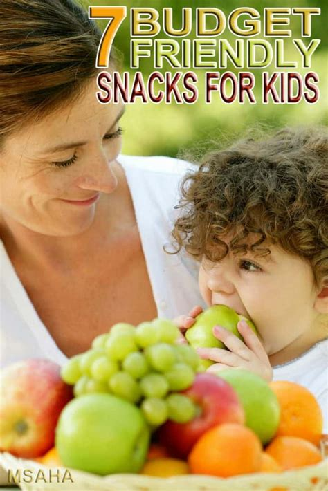 7 Of The Best Budget Friendly Snacks For Kids * My Stay At