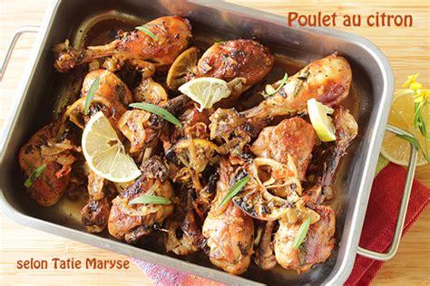 cuisine antillaise babette le poulet au citron comment le préparer