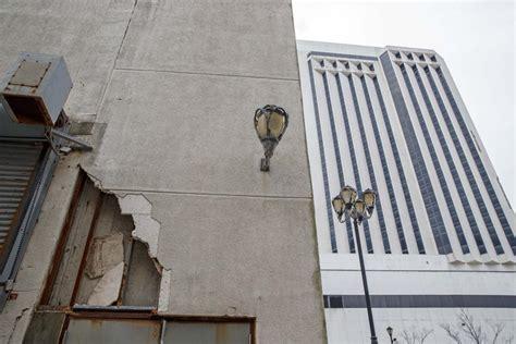 trump plaza atlantic casino down tear mayor abandoned demolition casinos donald