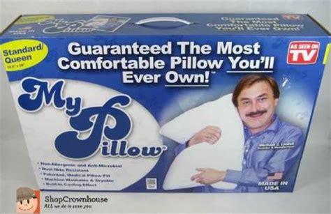 my pillow as seen on tv as seen on tv my pillow standard non allergenic