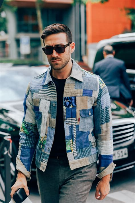 denim jackets outfits  men  ways  wear denim jacket
