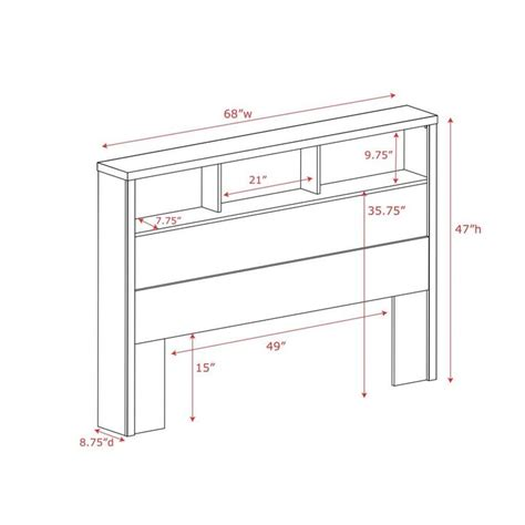 diy bookcase headboard plans woodworking projects plans