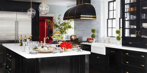 Black Cupboards Kitchen Ideas by 10 Black Kitchen Cabinet Ideas Black Cabinetry And Cupboards
