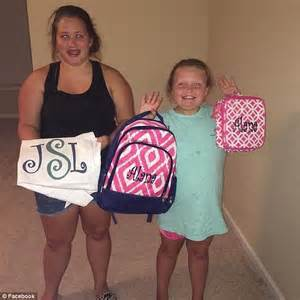 Honey Boo Boo and her big sister Pumpkin go back to school ...