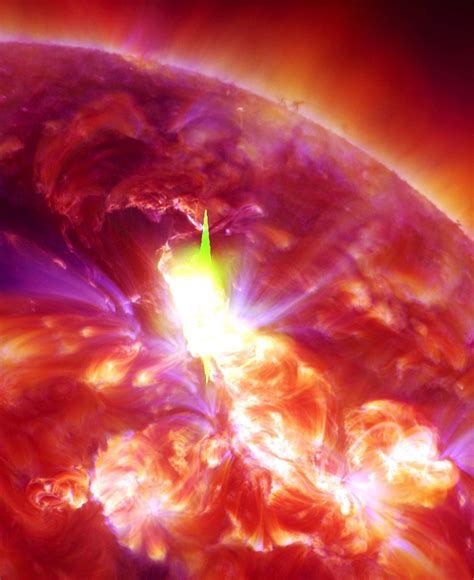 Solar flare on January 23rd, 2012. | Space | Pinterest ...