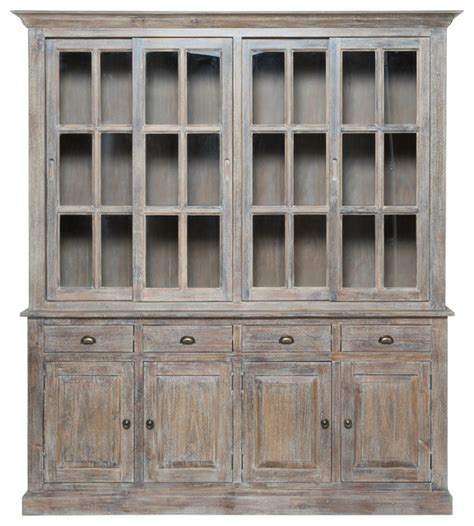 farmhouse sliding door cabinet kosas home gerald 4 drawer sliding door cabinet 82