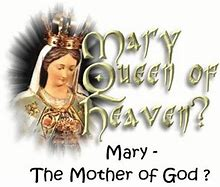 Image result for there is no queen of heaven