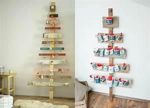 Adventskalender Holz Baum : adventskalender aus holz basteln 15 originelle tannenb ume ~ Watch28wear.com Haus und Dekorationen