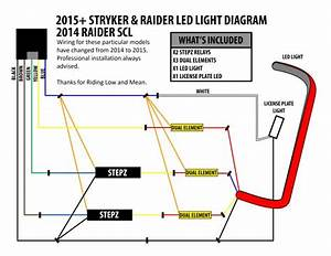 Stryker Led Brake Light And License Plate Kit