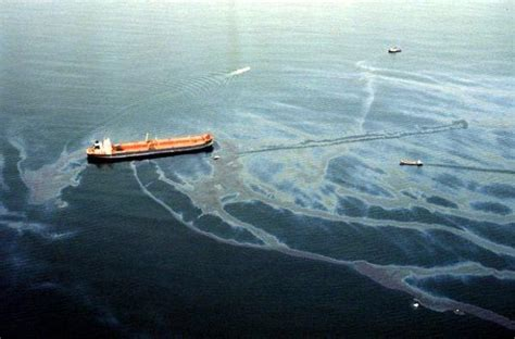 Oil Spill Water Pollution