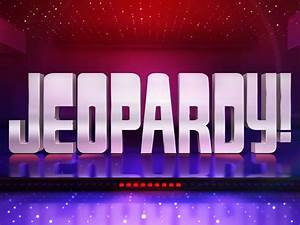 jeopardy game clipart clipground With free jeopardy template with sound