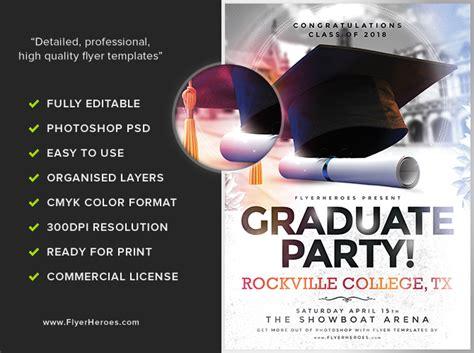 Graduation Brochure Templates Costumepartyrun