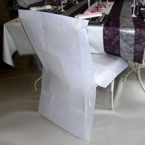 housse de chaise mariage discount housse de chaise jetable pas ch 232 re