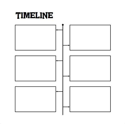 timeline  student samples sample templates
