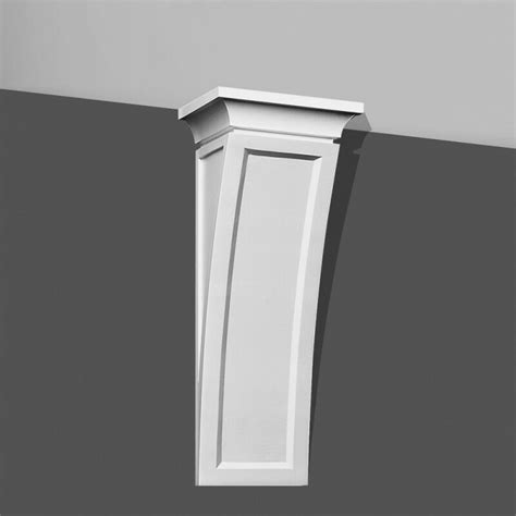 Corbels And Shelves by Modern Concave Corbel 20 Quot Bracket For Wall Shelf