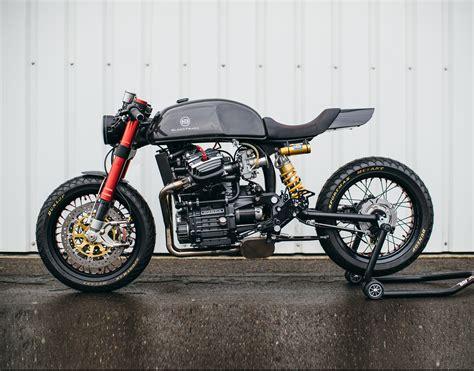 Blacktrack Motors Bt-01 Carbon Cafe Racer