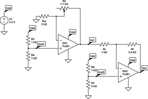 Operational Amplifier Resistance Range Voltage