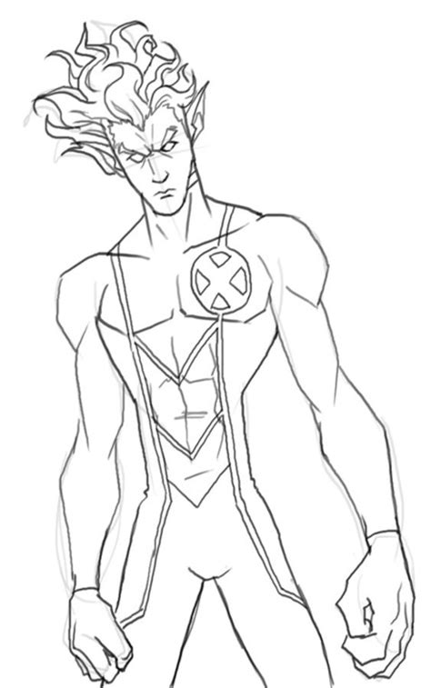 coloring pages coloring pages nightcrawler printable