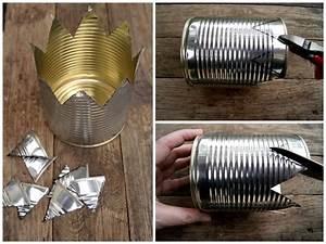 Basteln Mit Blechdosen : krone aus konservendose basteln garten basteln krone basteln und blechdosen basteln ~ Orissabook.com Haus und Dekorationen