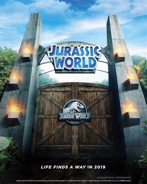 jurassic world ride replacing jurassic park ride