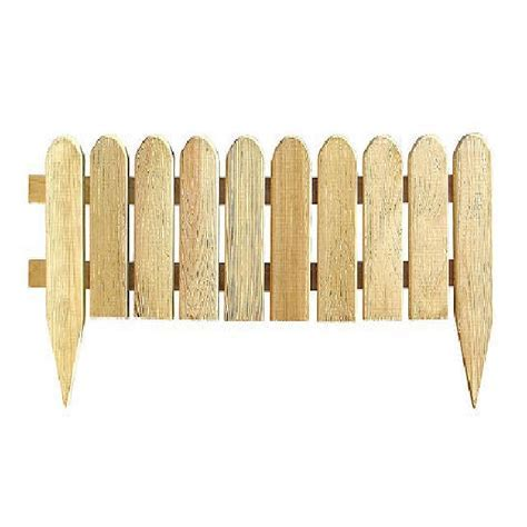 Grange Domed Picket Fence (Pack of 4) 1ft High   elbec