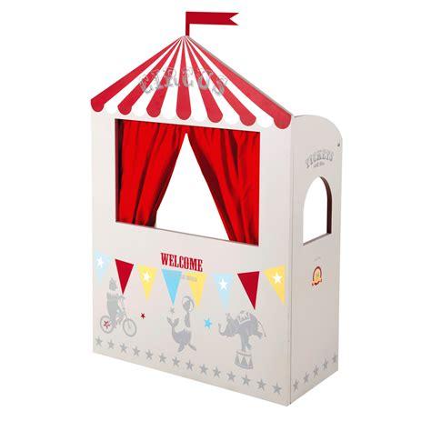 chambre ado vintage théâtre de marionnettes pour enfants circus maisons du monde