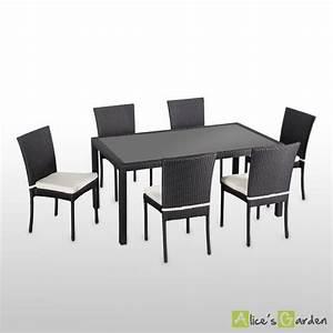 Soldes Chaises De Jardin : ensemble table et chaises de jardin en solde table jardin chaises maison boncolac ~ Melissatoandfro.com Idées de Décoration