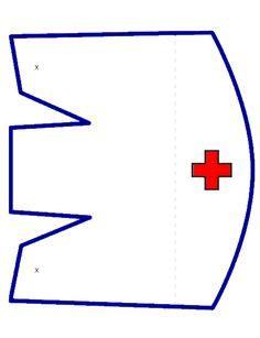 nurses cap costume   paper bing