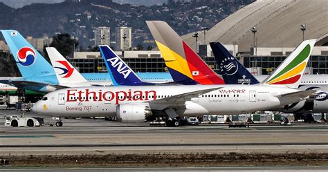 Etihiopian Airlines Boeing 787-8